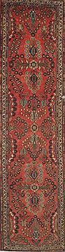 "Persian Agra  Wool Red Runner Area Rug  (3'5"" x 13'11"") - 300 - 23912"