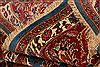 Kashmar Red Hand Knotted 101 X 129  Area Rug 100-23930 Thumb 1