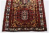 Karajeh Yellow Runner Hand Knotted 37 X 710  Area Rug 250-23988 Thumb 4