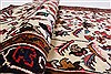 Kashan Beige Runner Hand Knotted 35 X 1011  Area Rug 250-23990 Thumb 5