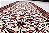Kashan Beige Runner Hand Knotted 35 X 1011  Area Rug 250-23990 Thumb 7