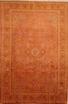 Persian Maymeh Red Rectangle 8x11 ft Wool Carpet 23997