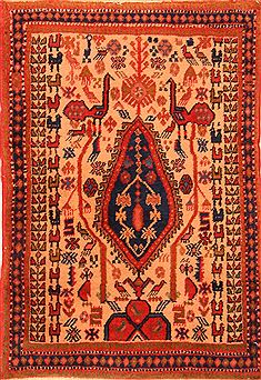 "Shahre Babak Brown Hand Knotted 2'4"" X 3'7""  Area Rug 253-24165"