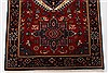 Karajeh Red Runner Hand Knotted 26 X 80  Area Rug 250-24422 Thumb 4