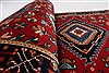 Karajeh Red Runner Hand Knotted 26 X 80  Area Rug 250-24422 Thumb 9
