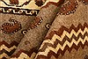 Gabbeh Brown Hand Knotted 37 X 53  Area Rug 100-24435 Thumb 4