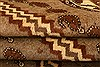 Gabbeh Brown Hand Knotted 37 X 53  Area Rug 100-24435 Thumb 5