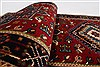 Karajeh Red Runner Hand Knotted 20 X 711  Area Rug 250-24596 Thumb 9