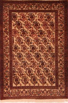 Persian Abadeh Beige Rectangle 3x5 ft Wool Carpet 24694