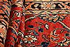 Mahal Red Runner Hand Knotted 35 X 113  Area Rug 100-24722 Thumb 1