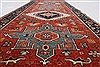 Karajeh Red Runner Hand Knotted 21 X 60  Area Rug 250-24723 Thumb 1