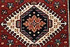 Karajeh Red Runner Hand Knotted 21 X 60  Area Rug 250-24723 Thumb 3
