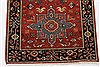Karajeh Red Runner Hand Knotted 21 X 60  Area Rug 250-24723 Thumb 4
