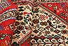 Abadeh Red Runner Hand Knotted 29 X 64  Area Rug 100-24803 Thumb 3
