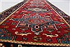 Karajeh Red Runner Hand Knotted 21 X 60  Area Rug 250-24832 Thumb 11