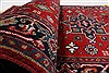 Karajeh Red Runner Hand Knotted 28 X 511  Area Rug 250-24843 Thumb 10