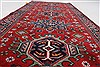 Karajeh Red Runner Hand Knotted 28 X 511  Area Rug 250-24843 Thumb 1