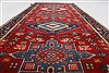 Karajeh Red Runner Hand Knotted 26 X 61  Area Rug 250-24908 Thumb 1