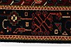 Karajeh Red Runner Hand Knotted 26 X 61  Area Rug 250-24908 Thumb 2
