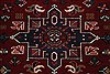 Karajeh Red Runner Hand Knotted 26 X 61  Area Rug 250-24908 Thumb 4