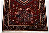 Karajeh Red Runner Hand Knotted 26 X 61  Area Rug 250-24908 Thumb 5
