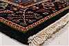 Karajeh Red Runner Hand Knotted 26 X 61  Area Rug 250-24908 Thumb 6