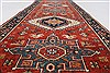 Karajeh Brown Runner Hand Knotted 21 X 511  Area Rug 250-24926 Thumb 1