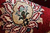 Isfahan Red Runner Hand Knotted 27 X 62  Area Rug 250-24985 Thumb 10