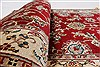 Isfahan Red Runner Hand Knotted 27 X 62  Area Rug 250-24985 Thumb 1