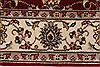 Isfahan Red Runner Hand Knotted 27 X 62  Area Rug 250-24985 Thumb 4