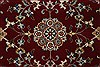 Isfahan Red Runner Hand Knotted 27 X 62  Area Rug 250-24985 Thumb 5