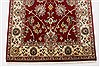 Isfahan Red Runner Hand Knotted 27 X 62  Area Rug 250-24985 Thumb 6