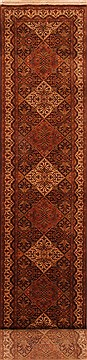 "Qum Red Runner Hand Knotted 2'9"" X 20'0""  Area Rug 100-25083"