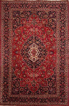 Persian Mashad Red Rectangle 12x15 ft Wool Carpet 25161