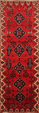 "Zanjan Red Hand Knotted 5'6"" X 15'8""  Area Rug 100-25237"