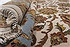 Agra Beige Hand Knotted 90 X 120  Area Rug 250-25320 Thumb 14