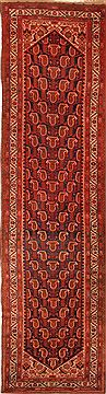 Persian Malayer Red Runner 16 to 20 ft Wool Carpet 25540