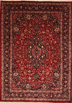 "Khorasan Red Hand Knotted 11'3"" X 15'11""  Area Rug 100-25609"