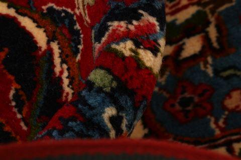 Persian Kashan Red Rectangle 11x16 Ft Wool Carpet 25621