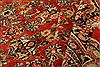 Mahal Red Hand Knotted 111 X 155  Area Rug 100-25627 Thumb 3