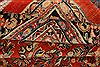 Mahal Red Hand Knotted 111 X 155  Area Rug 100-25627 Thumb 5