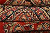 Mahal Red Hand Knotted 111 X 155  Area Rug 100-25627 Thumb 6