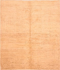 Persian Gabbeh Beige Square 7 to 8 ft Wool Carpet 25782