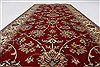 Isfahan Red Runner Hand Knotted 28 X 61  Area Rug 250-25893 Thumb 2