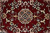Isfahan Red Runner Hand Knotted 28 X 61  Area Rug 250-25893 Thumb 4