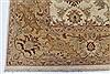 Chobi Beige Hand Knotted 90 X 119  Area Rug 250-26070 Thumb 5