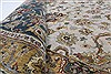 Isfahan Beige Hand Knotted 91 X 130  Area Rug 250-26177 Thumb 11