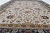 Isfahan Beige Hand Knotted 91 X 130  Area Rug 250-26177 Thumb 2