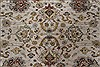 Isfahan Beige Hand Knotted 91 X 130  Area Rug 250-26177 Thumb 4