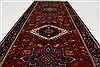 Karajeh Blue Runner Hand Knotted 26 X 63  Area Rug 250-26228 Thumb 3
